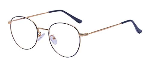 9f714ba1f46 Jual Outray Retro B236 Round Metal Clear Lens Glasses -