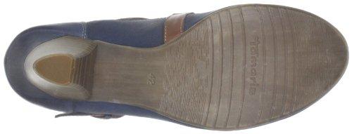 Tamaris Tamaris 1-1-24402-20 - Zapatos de tacón de cuero para mujer Multicolor (Mehrfarbig (NAVY/NUT 832))
