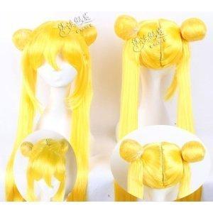 Sailor Moon Usagi Tsukino cosplay wig + wig net (japan import): Amazon.es: Juguetes y juegos