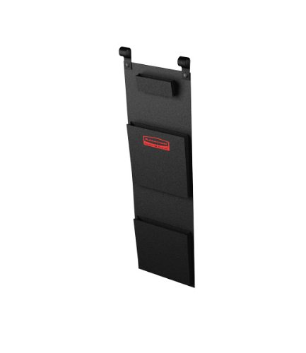 Rubbermaid Commercial Executive Series Tela literatura organizador para carro de limpieza (fg617800bla): Amazon.es: Amazon.es