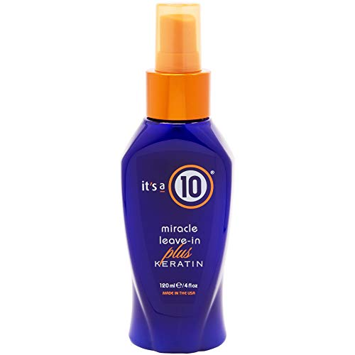 Its A 10 Miracle Leave In Product Plus Keratin 4 Oz Unisex