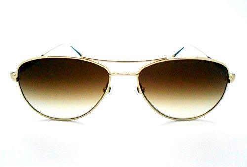 c40835c7e3 Matsuda M3041 Black gold Aviator Sunglasses