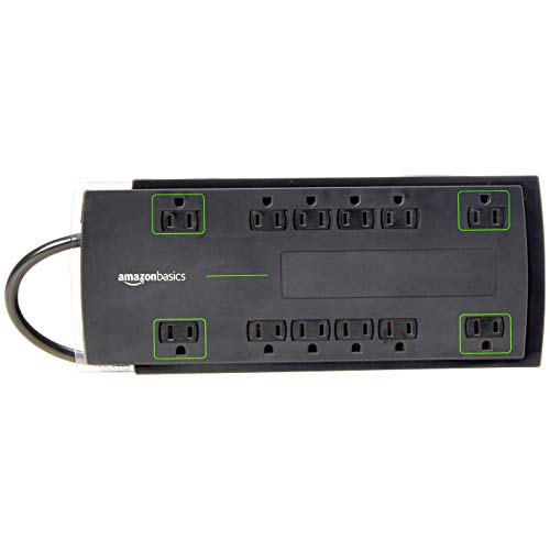 Amazonbasics 12Outlet Power Strip