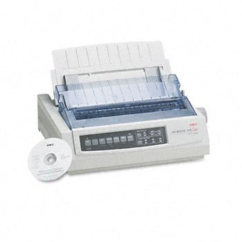 Oki-M-Oki Microline 390 24-Pin Dot Matrix Turbo Printer ,Ml390 ,Par Ctg42Ap (Pack Of 2 (Oki Microline 390 Turbo 24 Pin Printer)