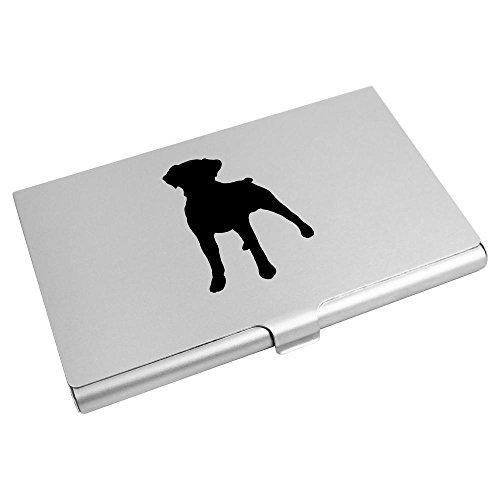 Dog Business Card Azeeda Wallet Holder Silhouette' CH00012565 'Boxer Credit Card qZnP4