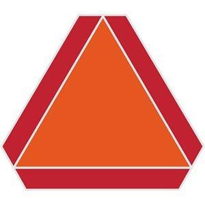 [해외]Hillman 840628 Slow Moving Vehicle 14 x 16 1 Sign White / Hillman 840628 Slow Moving Vehicle 14 x 16, 1 Sign, White