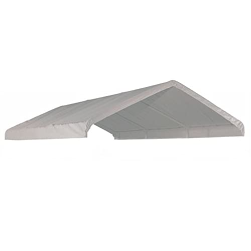 ShelterLogic 10x20 Canopy Replacement Cover for 1-3/8  Frame White  sc 1 st  Amazon.com : canopy parts - memphite.com