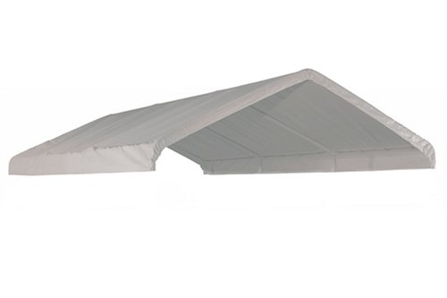 ShelterLogic MaxAP Canopy Replacement Cover, White, 10 x 20 ft. - Shelterlogic Cover