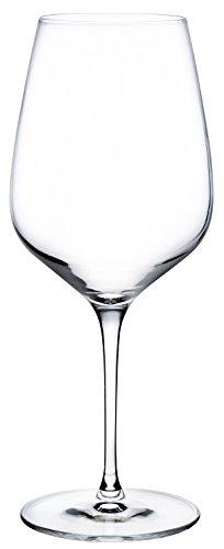 Hospitality Glass Brands 67092-012 Refine Red Wine, 20.25 oz. (Pack of - Red Rim Wine Glass Sheer