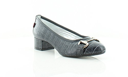 Clasica Madison New Escarpín Talla Grey Croco Joseph Pump Zapatilla Cerrada Marc Punta York Mujeres wqzRWS4