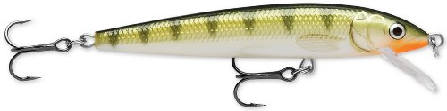 (Rapala Husky Jerk 10 Fishing lure, 4-Inch, Yellow Perch)