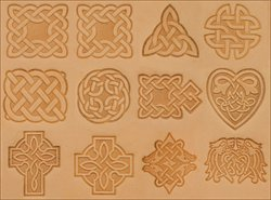 (Tandy Leather Craftool Celtic Stamp Set of 12)