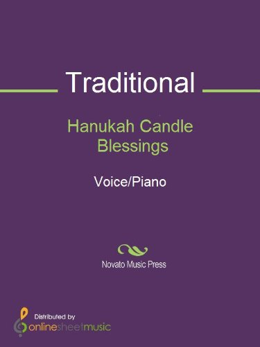 Hanukah Candle Blessings - Score for sale  Delivered anywhere in USA