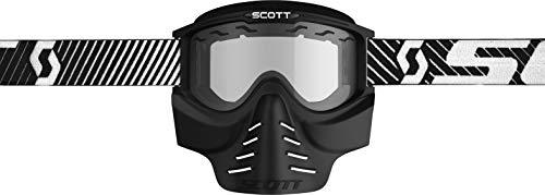 Scott 83X Safari Facemask Goggles Black/Clear