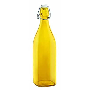 Bormioli Rocco Swing Bottle, 33-3/4-Ounce, Yellow