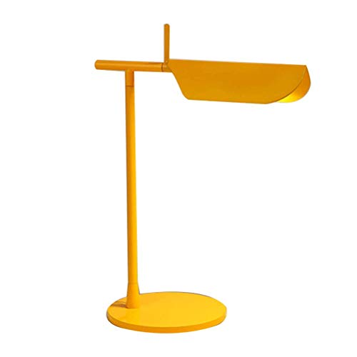 Tab Table Lamp Modern Minimalist Fashion Living Room Bedroom Home Bed Reading LED Applique Table Lamp,Yellow