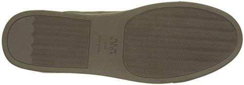 Suedette Tonal 3 Grigio Sneaker Dark Look New Grey Uomo qFvP5z