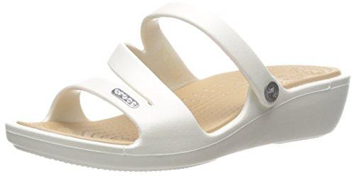 Femme Gold Crocs Women Sandales Patricia Oyster qnAptn