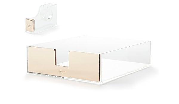 Kate Spade New York acrílico accesorios de escritorio (carta ...