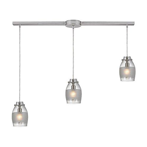 Elk Lighting 46161/3L Pendant Light Brushed Nickel