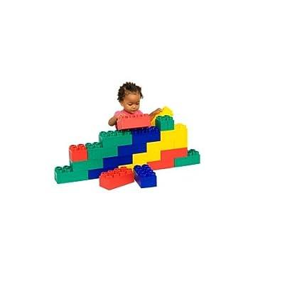 24pc Jumbo Blocks - Beginner Set (Made in the USA): Amazon.ca: Toys ...