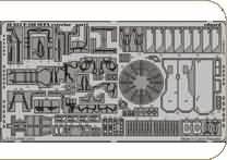 F-16I Sufa Photo Etch Exterior Details for Hasegawa (1/48 kit accessory, Eduard 48653)