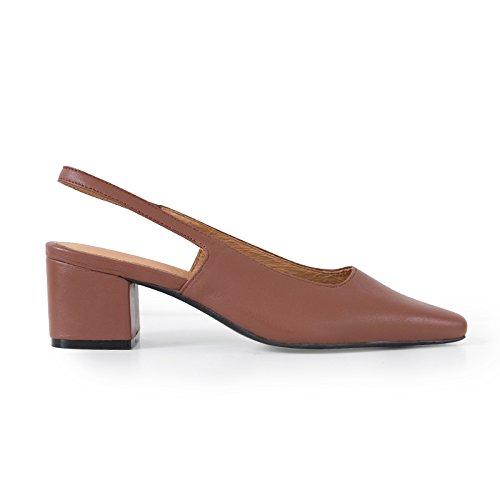 De con Vacía 5 SHOESHAOGE Sandalias Cabeza Pesados Italiano Y Acompañado Mujer UK3 Retro De con 98 Partido Zapatos EU36 xFvFqpY4
