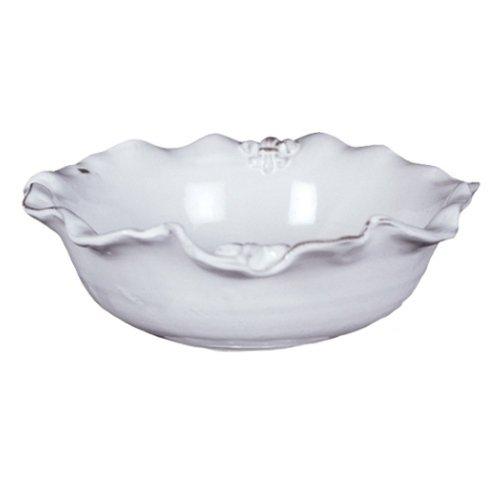 Abigails Fleur De Lis White Bowl