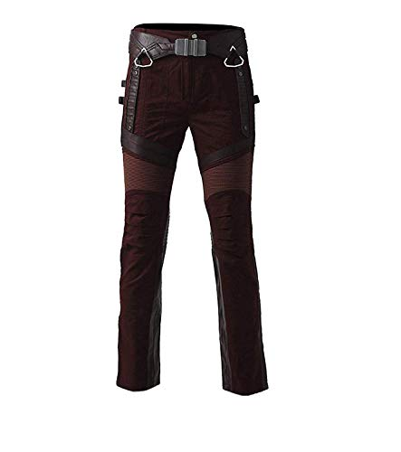 Pants Lord first Uomo Giacca Star Fashion Lunghe Leather Real Maniche pwz1qR