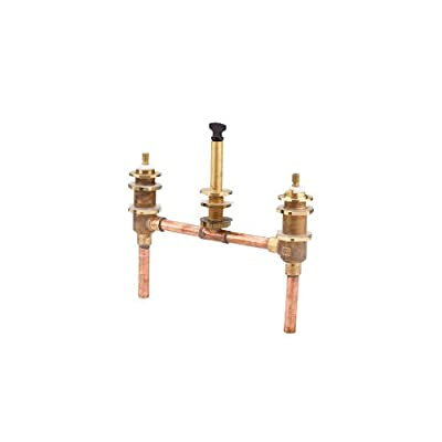 Pfister 0X6-050R 1/2 Inch Rough In Valve for Double Handle Roman Tub Faucets (10,