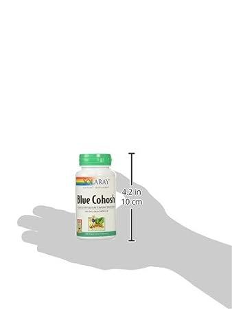 Amazon Com Solaray Blue Cohosh Root Capsules 500 Mg 100 Count