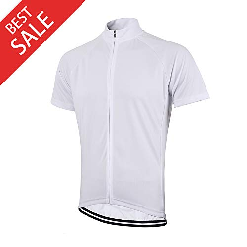 Men's Bike Cycling Jersey Men's Mountain Biking Shirt Short Sleeve Color Shirt for Road,Breathable & Quick Dry