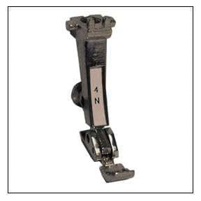 # 4N Bernina Foot Zipper Bernina - 0084487000