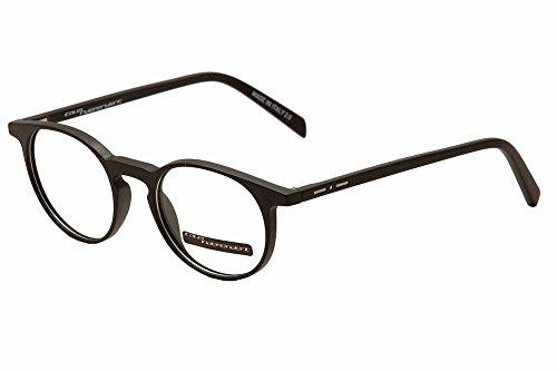 (Italia Independent Eyeglasses I-Plastik 5622 Black 009/000 Optical Frame 47mm)