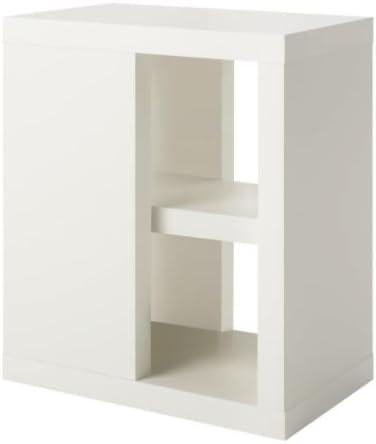 Ikea ULLRIK - Mesa de la Pierna con el Almacenamiento, Blanco ...