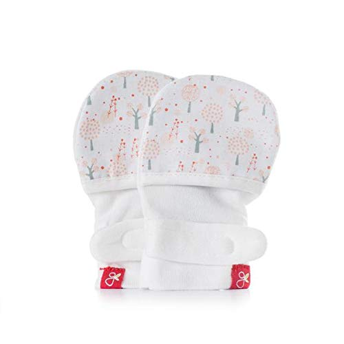 Goumikids Baby Girl's Magical Woods Mitts - Poppy - 0-3 Months