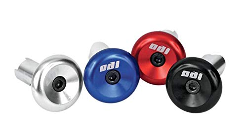 Odi ODIAluminum Bicycle Bar Plugs (Blue)