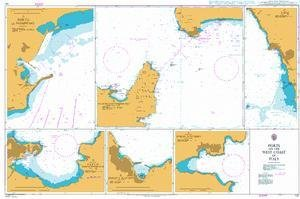 BA Chart 131: Ports on the West Coast of Italy by UKHO