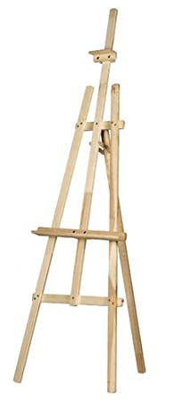 Quantum Art Norfolk Studio Easel, Pine Wood, Yellow, 1800 Mm 71 6 Ft by Quantum Art