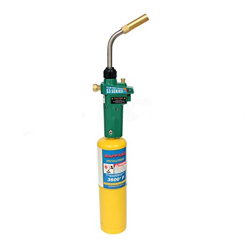 MAPP Welding Brazing Torch Gas Self Ignition Turbo Torch Solder Propane Welding Torch