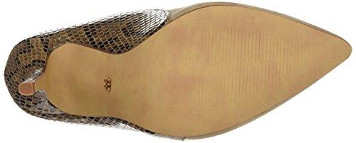 Mariamare 61293, Zapatos De Tacón, Mujer Marrón (Peach Taupe / Serpiente Taupe)