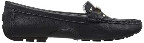 Style York Loafer Leather Women's Village Marc Joseph Navy Driving Grainy New West Ezqnx8xAW