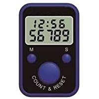 Dhyani Counter Ring Type Manual Electronic Finger Chanting with Time
