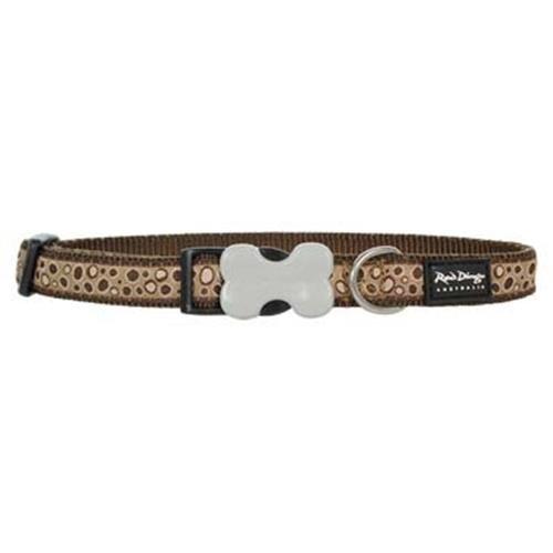 Dog Collar - Bedrock Brown - Large