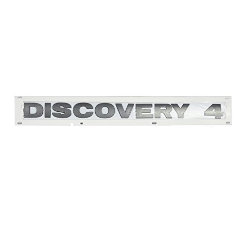 JSD Rear Tail Gate Plate for Land Rover Rear Tail Gate Plate Decal Badge - Discovery 4 - LR4 LR018249