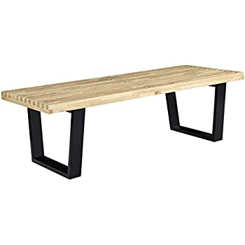 Amazon.com: WE Furniture - Mesa de entrada (madera reciclada ...