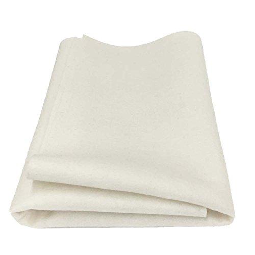 - 100% Merino Wool Craft Felt - Natural OFFWHITE (Yard)