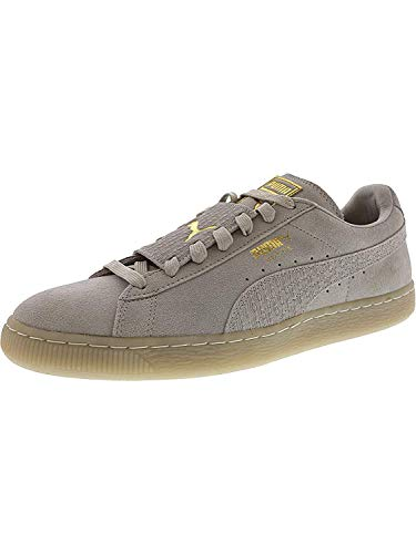 (Puma Suede Epic Remix Fashion Sneaker - 10M - Glacier Grey/Puma White)