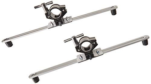 Gibraltar SC-GEMC Electronic Mount Arm With Clamps Pair - Module End Clamp