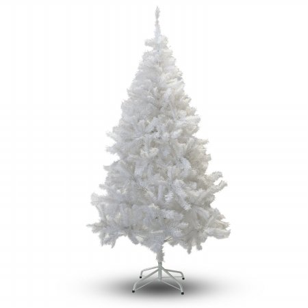 Perfect Holiday Christmas Tree, 8-Feet, PVC Crystal - White Christmas Trees